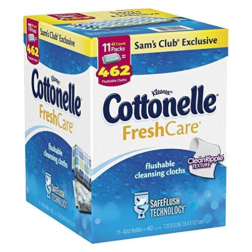 Cottonelle Fresh Care Flushable Cleansing Cloths 504
