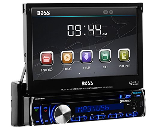 38900 boss audio bv9986bi single din, touchscreen, bluetooth, dvd cd mp3 pyle plts73fx wiring harness at gsmportal.co