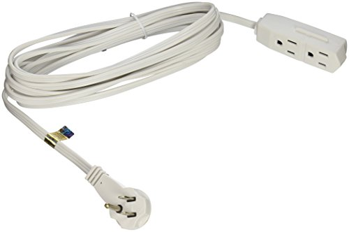 woods 27603w 15 foot cube extension cord with power tap white audiodevicer. Black Bedroom Furniture Sets. Home Design Ideas