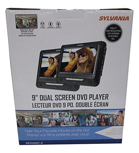 sylvania dual screen portable dvd player manual