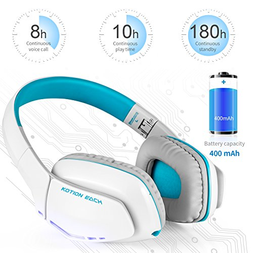 Headphones bluetooth phone - retractable bluetooth headphones white