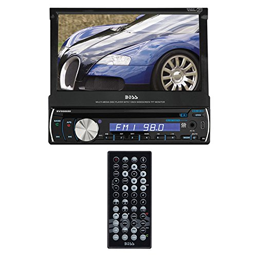 Boss Audio Bv9967b Single Din Touchscreen Bluetooth Dvd