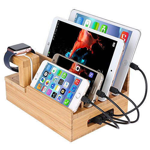 quick charge 3 0 5 port multi usb wall fast charger high. Black Bedroom Furniture Sets. Home Design Ideas