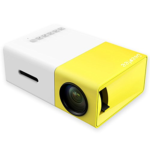Deeplee A1 LED LCD Mini Portable LED Projector With USB/SD
