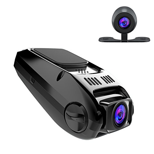 48347 6 itrue x6d dual car dash cam pro stealth full hd 1080p 170�wide  at n-0.co