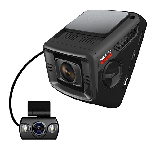 48347 itrue x6d dual car dash cam pro stealth full hd 1080p 170�wide  at arjmand.co