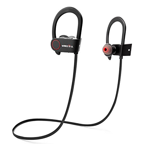 Anker earphones with microphone - headphones red with microphone