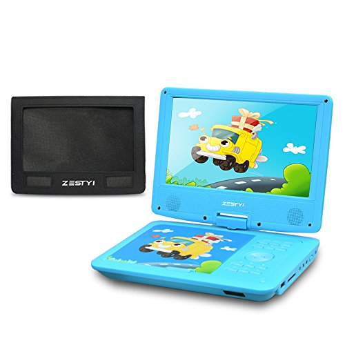 support last memory function when open it zestyi portable dvd player can continue to play at the place you stoppause about zestyi personal dvd player