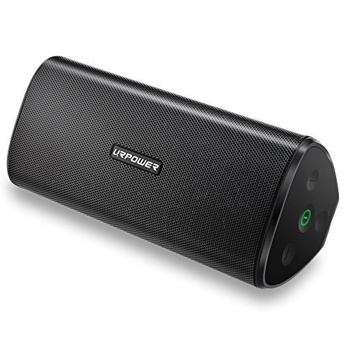 urpower bluetooth speakers ipx7 waterproof portable. Black Bedroom Furniture Sets. Home Design Ideas