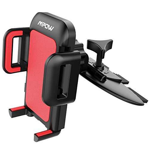 Mpow car phone holder cd slot car phone mount universal car cradle mount 9