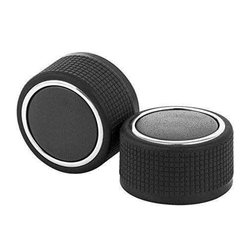 Dedc Pair Rear Audio Radio Control Knob Button Replacement