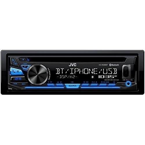 JVC KD-RD88BT Single DIN Bluetooth In-Dash CD/AM/FM Car