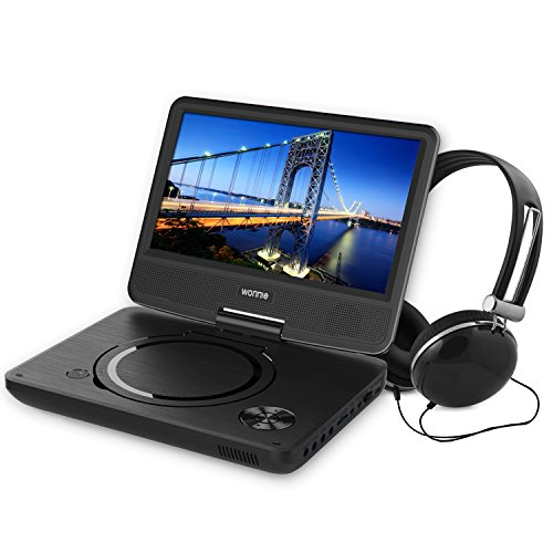 dbpower 9.5 portable dvd player manual