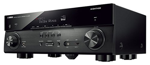 yamaha aventage audio video component receiver black rx. Black Bedroom Furniture Sets. Home Design Ideas