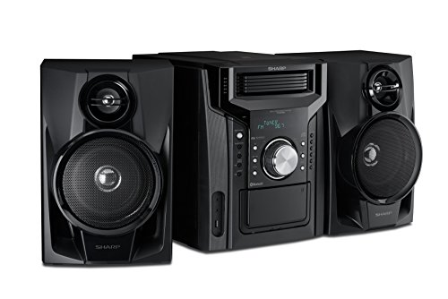 Cd Bh950 Sharp 240w 5 Disc Mini Shelf Speaker System With