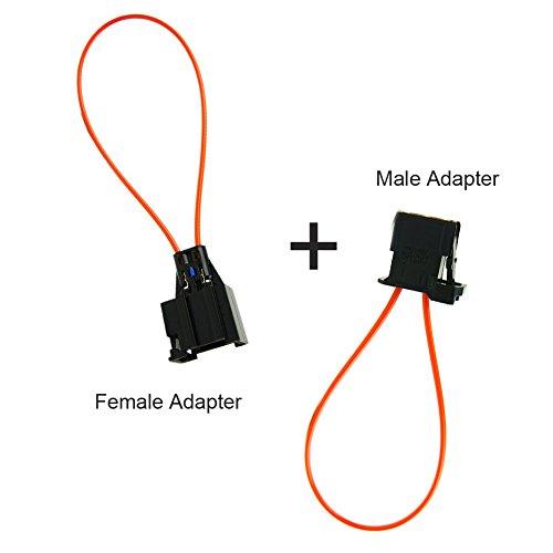 Bluetooth Pairing Adapter F�r Vw Uhv Standard: RKX MOST Fiber Optic Optical Loop Bypass Female Adapter
