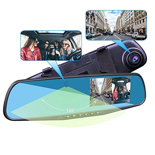Provision Isr Hidden Dual Dash Cam Hidden Interior Mirror
