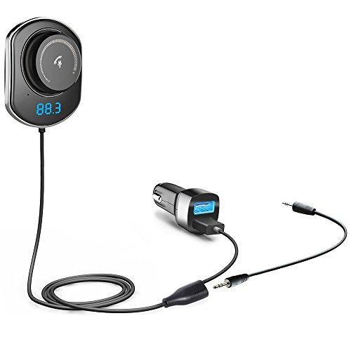comsoon bluetooth car receiver wireless fm transmitter. Black Bedroom Furniture Sets. Home Design Ideas
