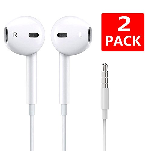 Iphone x earbuds 2 pack - earphone extension for iphone 8