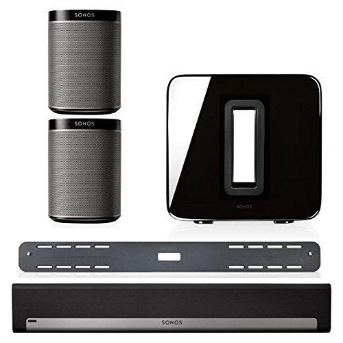 Sonos Playbar Tv Soundbar Bundle With Playbar Wall Mount