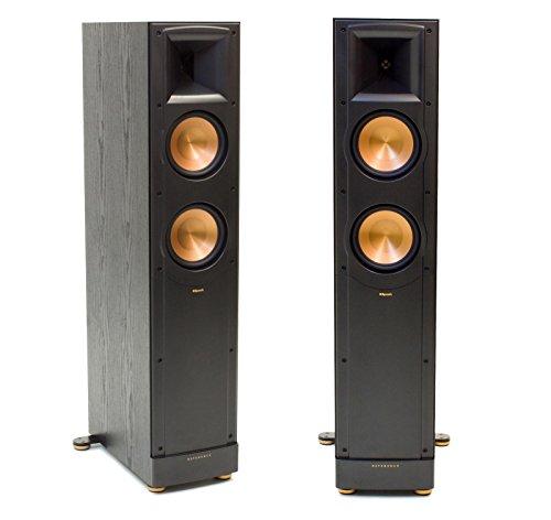 each black klipsch rs 62 ii reference series surround speaker audiodevicer. Black Bedroom Furniture Sets. Home Design Ideas