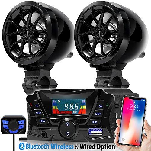 Goldenhawk Usa Motorcycle Waterproof Bluetooth Wireless