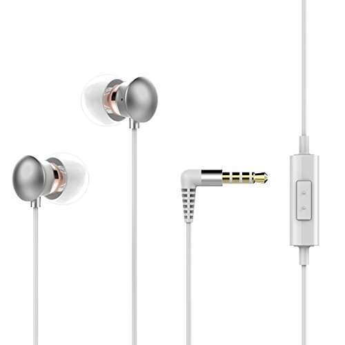 Earphones with microphone tangle free - iphone earphones with adapter