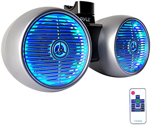 2 Way Boat Audio System With Mounting Bracket Waterproof